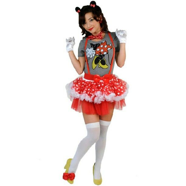 Minnie Mouse #halloween #costume #minniemouse #mouseears //.  sc 1 st  Pinterest & Minnie Mouse #halloween #costume #minniemouse #mouseears http://www ...