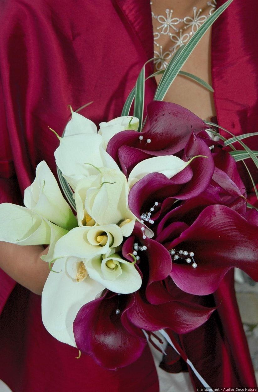 30 bouquets de mariée avec un seul type de fleur | Bouquet ...