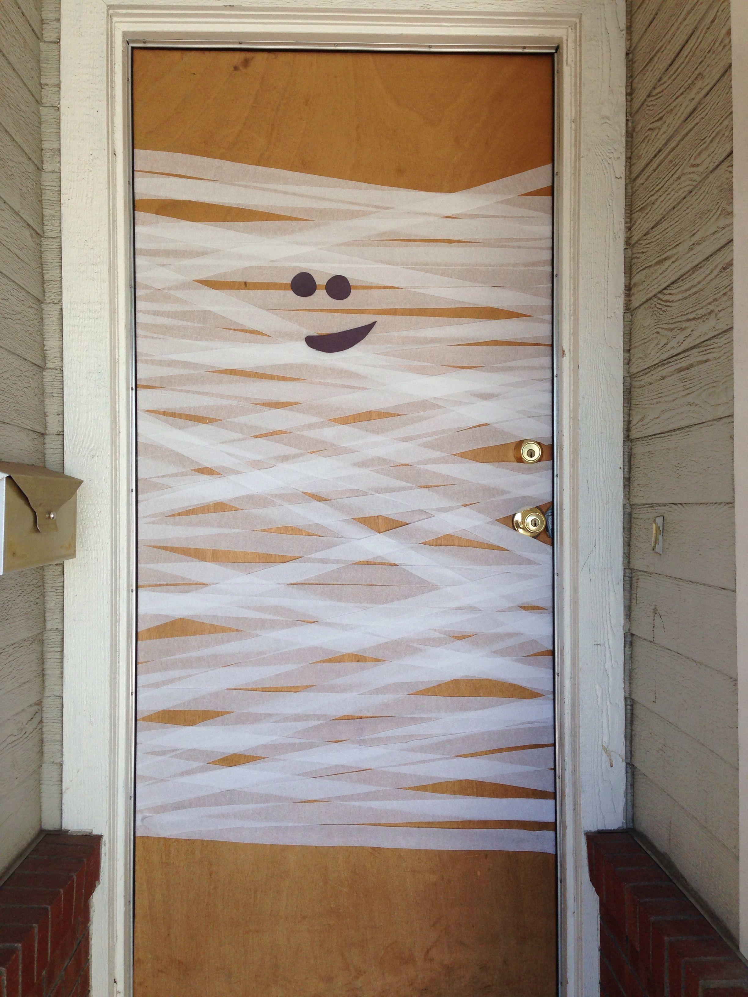 Halloween Mummy Door Decoration Door Decorations Decor Mummy Door