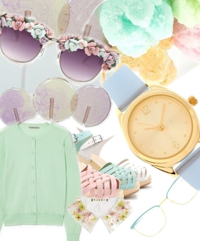 Pastel time #lionesquestyle - styled from Leeay Leeway's pins