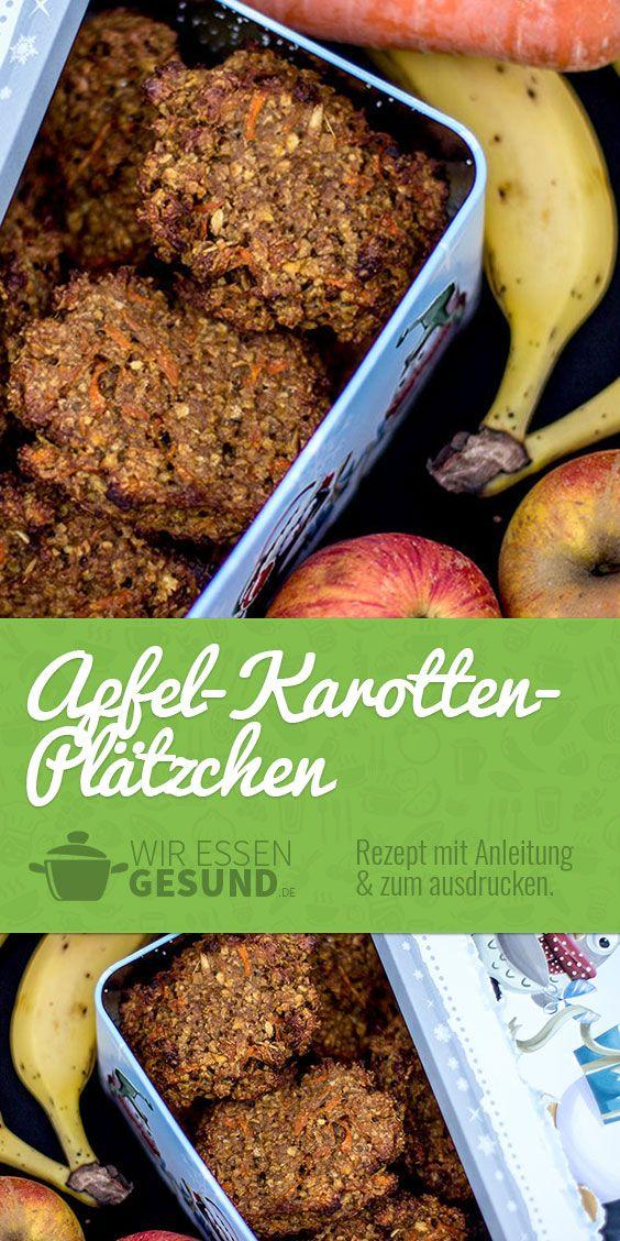 Karotten-Apfel-Plätzchen #plätzchenrezept