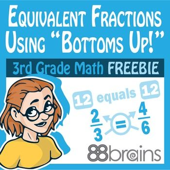 Fractions: Equivalent Fractions Using \