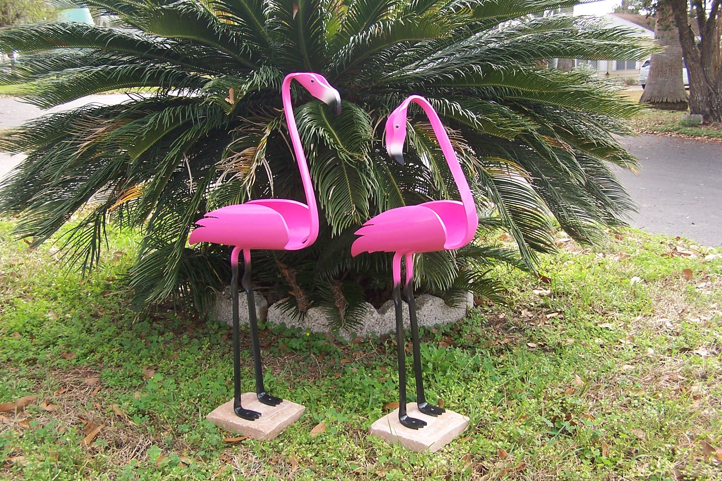 how to make a bird stand out of pvc