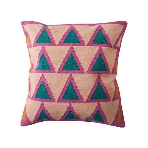 Maya Throw Pillow Cover Light Pink Modern Throw Pillows Light Pink Throw Pillows Throw Pillows
