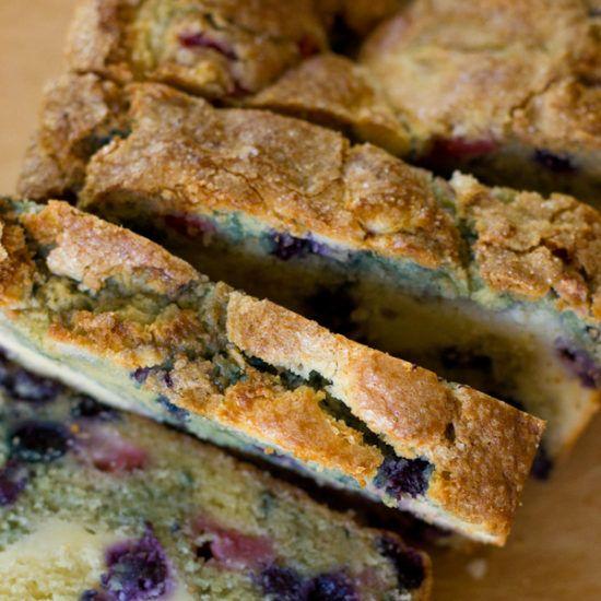 the best buttermilk cornbread  food blueberry bread