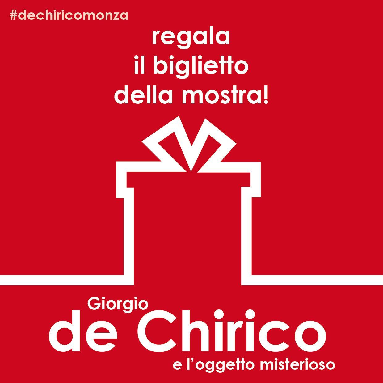 """A Natale regala l'arte:  biglietto open della mostra """"Giorgio de Chirico e l'oggetto misterioso"""" in corso alla Reggia di Monza fino al 1 febbraio 2015! http://www.ticketone.it/biglietti.html?affiliate=ITT&doc=artistPages%2Ftickets&fun=artist&action=tickets&erid=1287961&kuid=494712 Tutte le info della mostra su: www.dechiricomonza.com"""