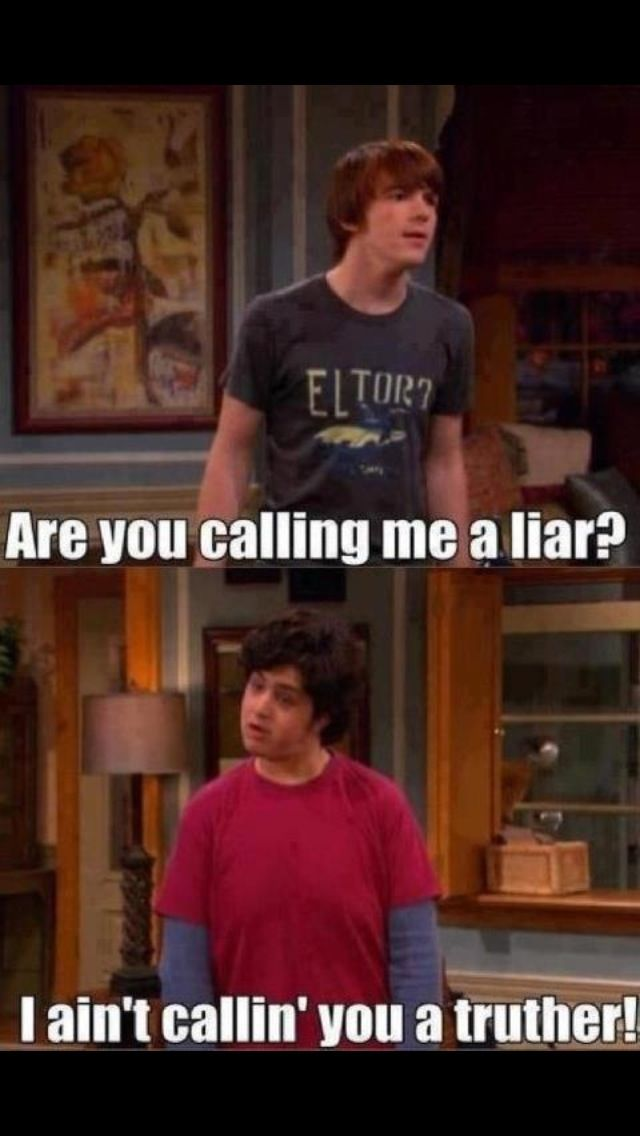 I Ve Got No Idea Why But I Laughed Really Hard At This Drake And Josh Funny Funny Quotes