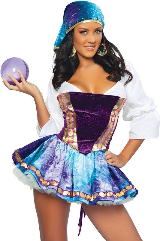 exotic gypsy costume - Exotic Halloween Costume