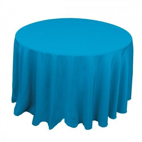 10 Malibu Turquoise 120 In Round New Tablecloths Wedding Catering