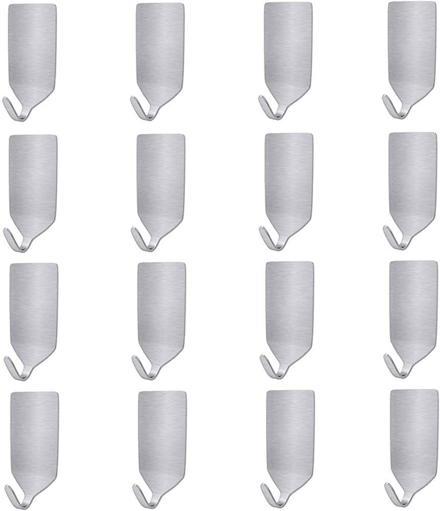 16 Stucke Klebehaken Handtuchhaken Selbstklebend Haken Wandhaken