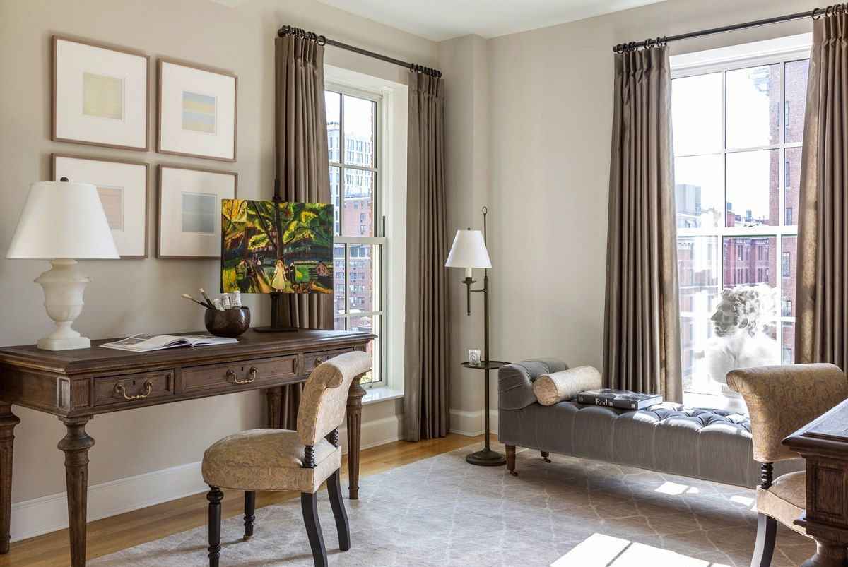 Gramercy Park Bennett Leifer double office Home officeStudy