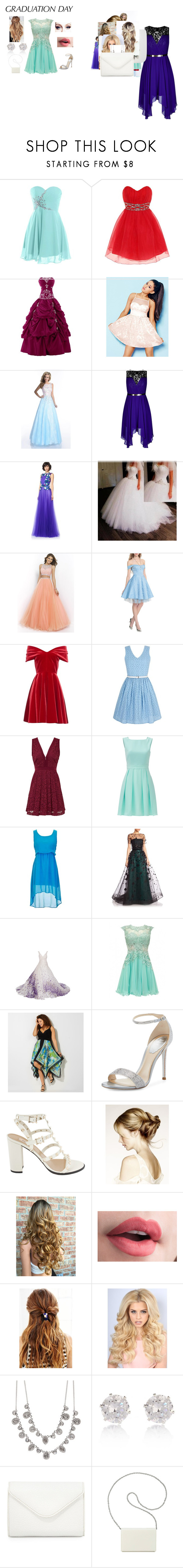 """""""Graudation Day"""" by foreveerneveer on Polyvore featuring Mode, Dorothy Perkins, Lipsy, Envious Couture, City Chic, Disney, Emilio De La Morena, Yumi, Free People und Kate Spade"""