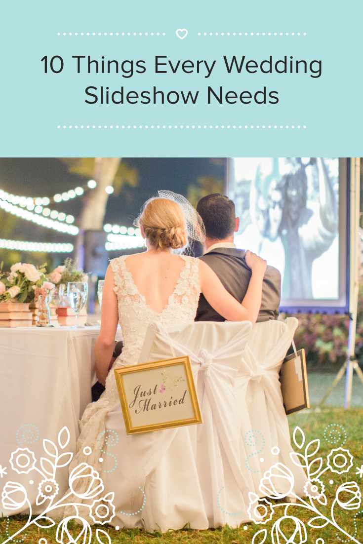 A Wedding Slideshow Is Simple Elegant Way To Share That Story With The People