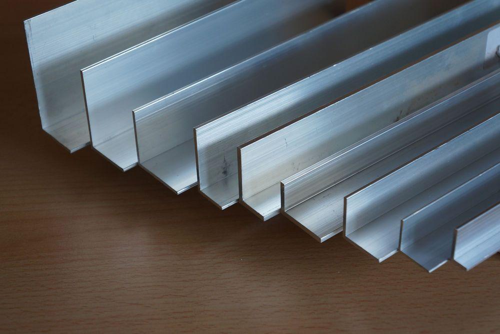 Alu Winkelprofil Winkel Aluminiumprofil Aluminium Aluwinkel L Profil Alu 200cm In Business Industrie Metall Metallbearbeitung Metall Bearbeitung Aluminium
