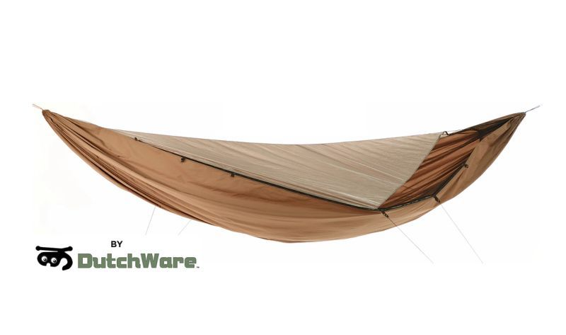 US-based adventure gear company Dutchware has designed Chameleon, a lightweight hammock with modular components that can be attached or moved as per the camping conditions. #homecrux