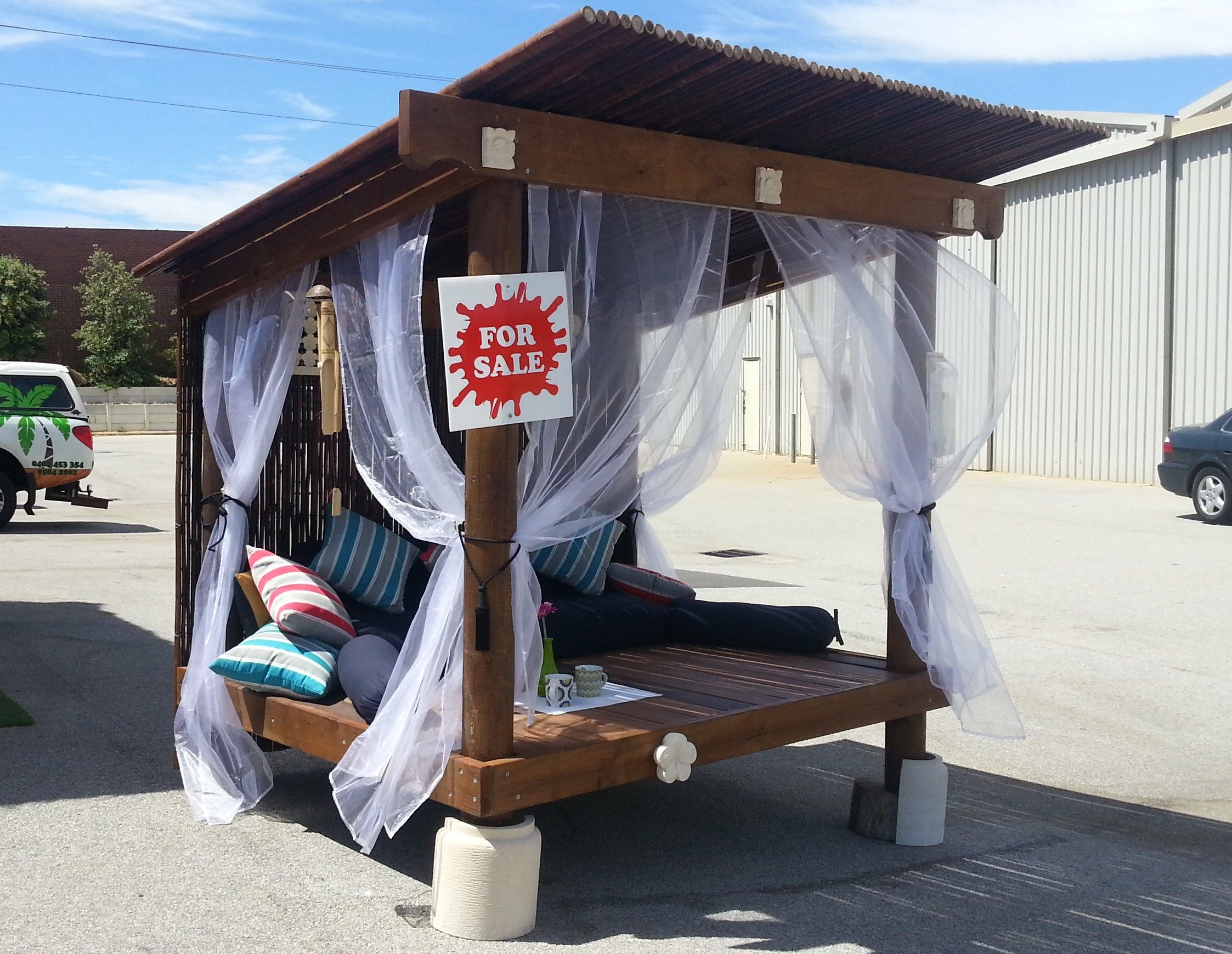 Day Beds Bali Huts Decks Mandurah Perth Outdoor Daybed Balinese Singapore Style