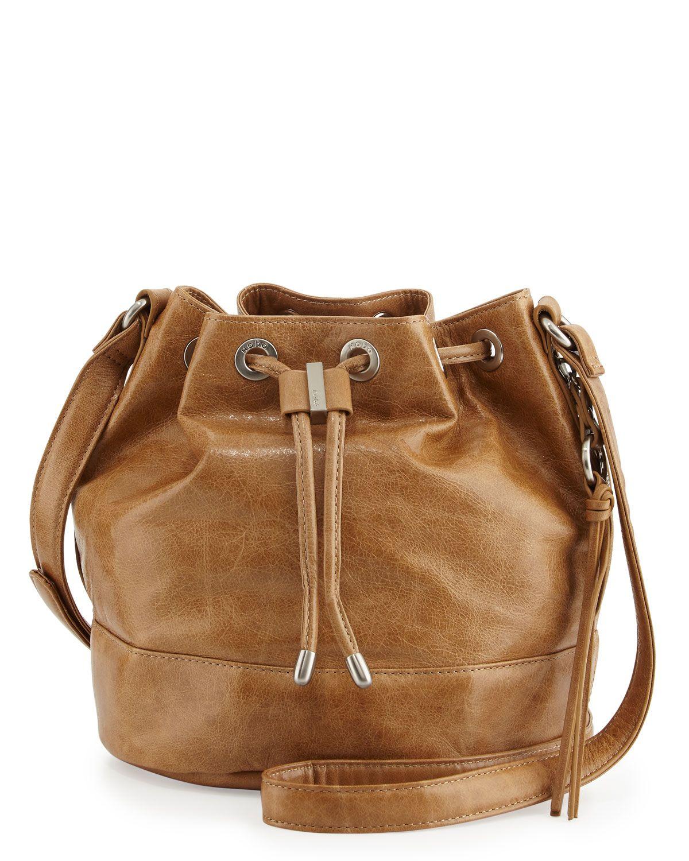 Hobo Tulia Leather Bucket Bag, Doe, Women's, Size: S