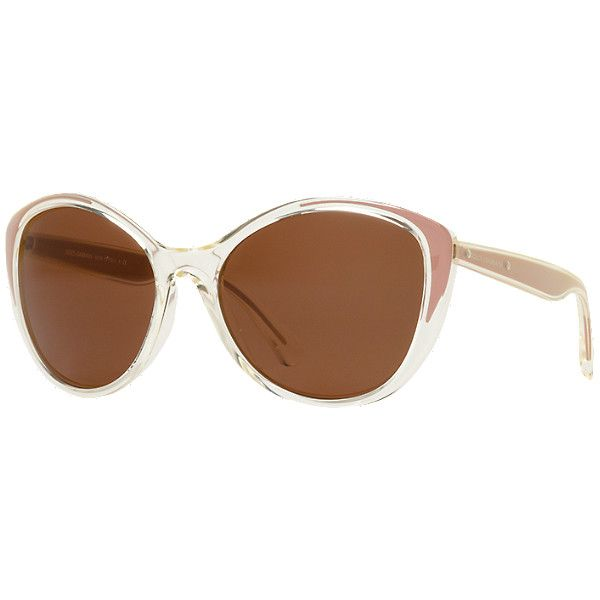8f2230d37f4 Dolce   Gabbana Dg6075m Clear Cat Sunglasses (2.275 ARS) ❤ liked on Polyvore  featuring