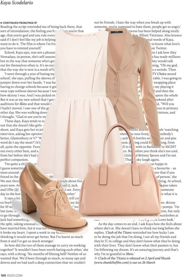 """nudes"" by kaileeblalock on Polyvore"