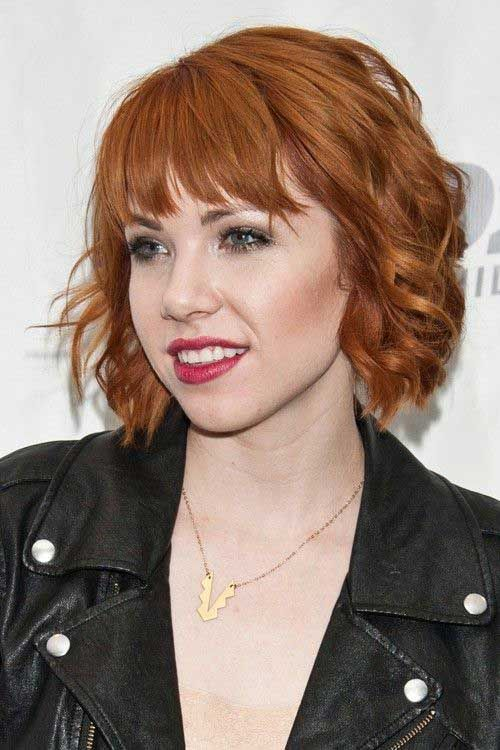 15 Cool Gy Bob With Bangs Hairstyles 2016 Short