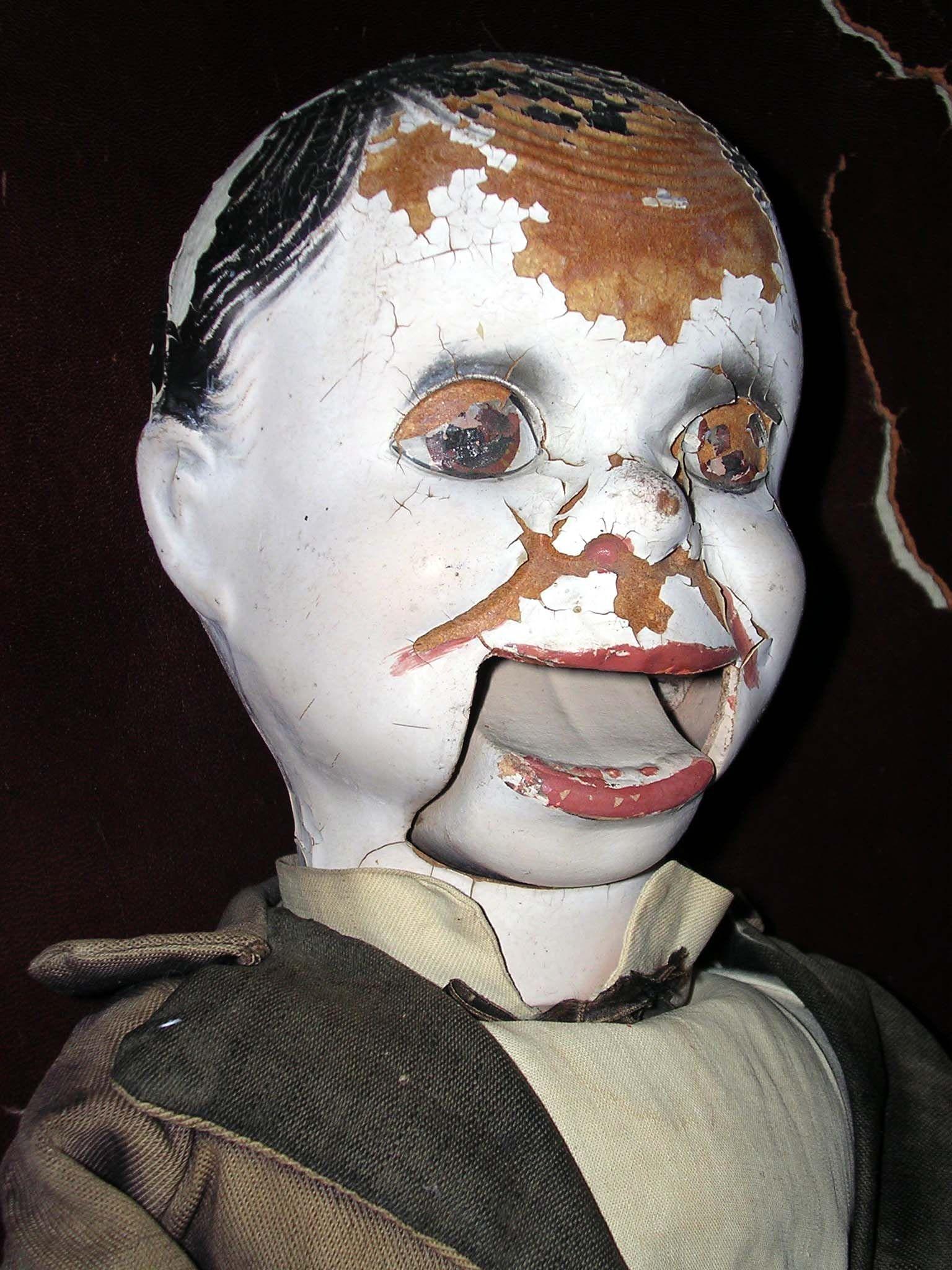 Haunted Ventriloquist Dummy Original Artwork