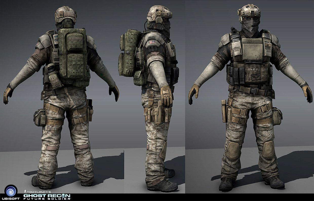 Ghost Recon Future Soldier on Behance | Modern, Mil-spec ...