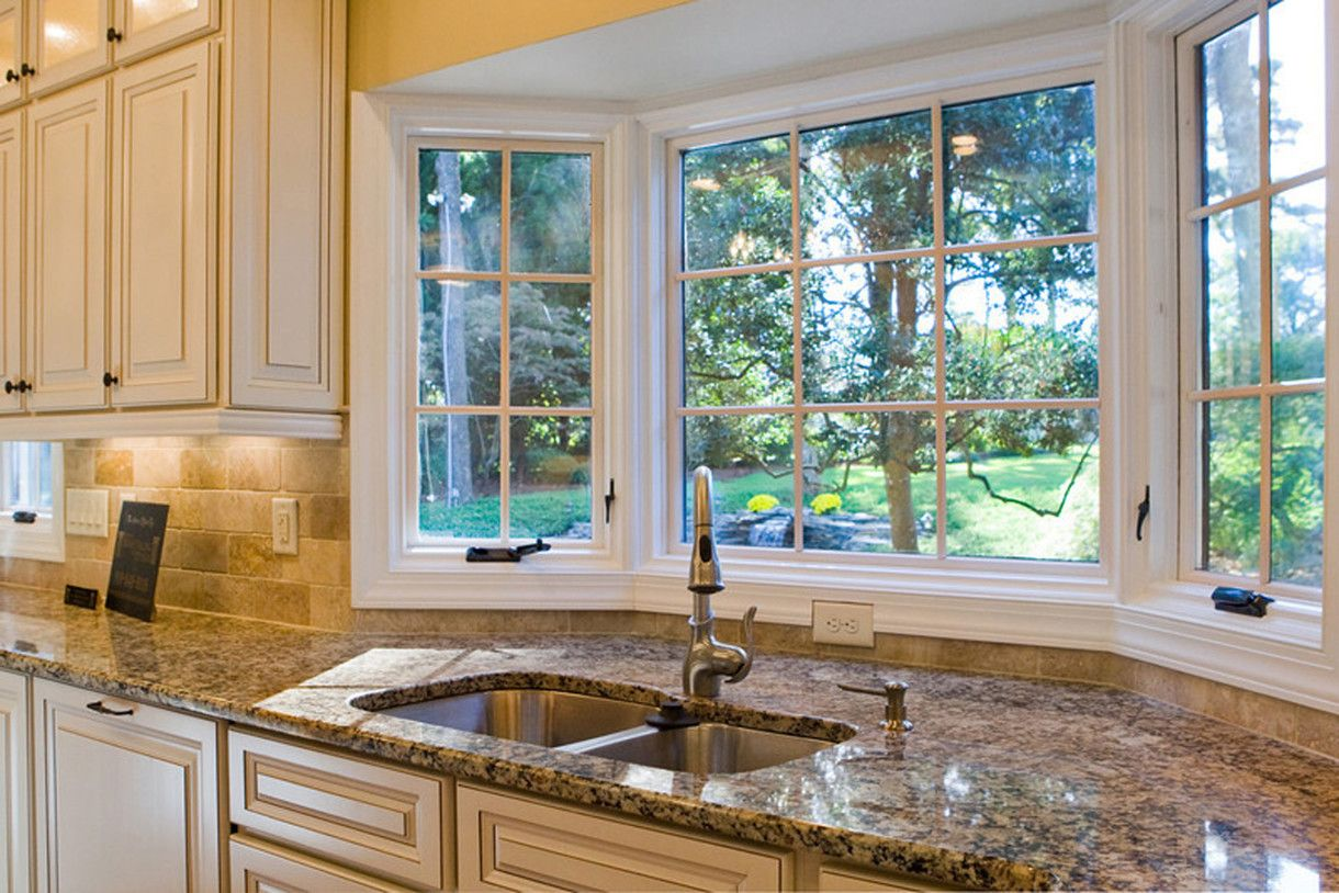 amazing and cool bay window design ideas for attractive kitchen window design ideas with kitchen bay - Kitchen Bay Window Ideas