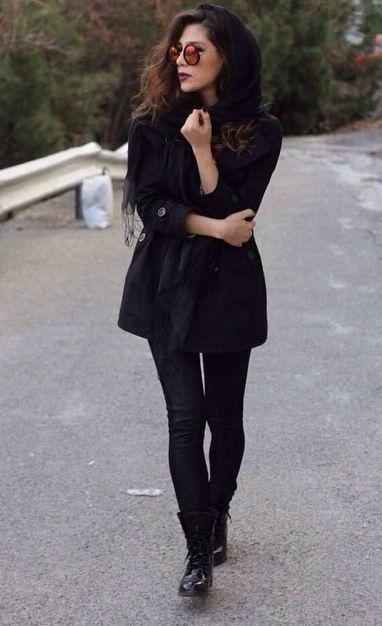neeked girl in the street iran