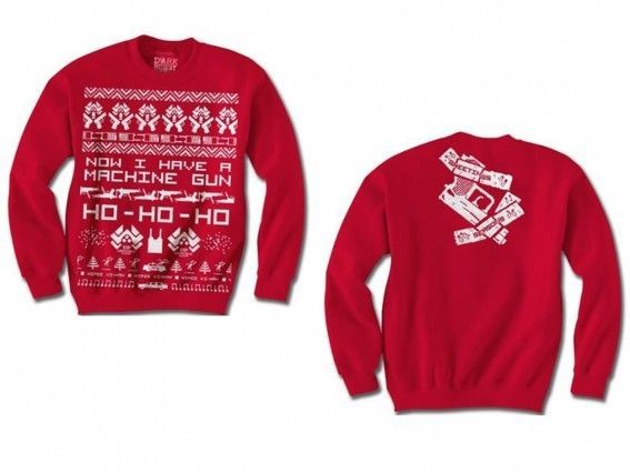 die hard christmas sweater possibly best ugly christmas sweater of all time