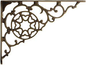 Brass Victorian Style Shelf Bracket In Antique By Hand 5 7 8 X 7 7 8 Metal Shelf Brackets Decorative Shelf Brackets Cast Iron Shelf Brackets