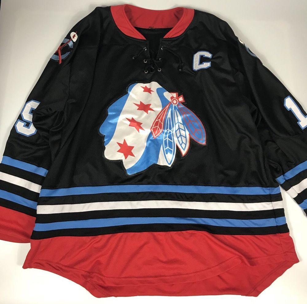 Nhl Chicago Blackhawks Jonathan Toews Chicago Flag Stars Jersey Xl Nhl Chicago Jonathan Toews Chicago Flag [ 991 x 1000 Pixel ]