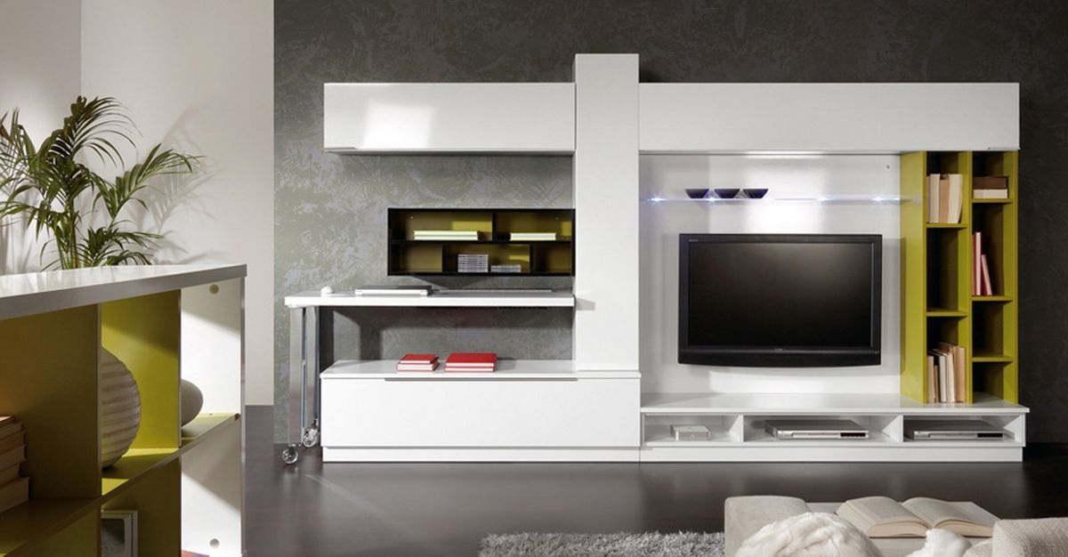 Led tv unit design google search interior design Interior design tv wall units