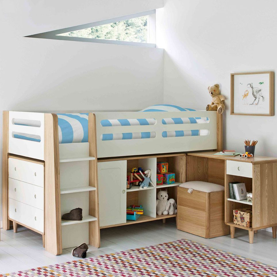 Archie Cabin Bed| Childrens Beds| Feather & Black