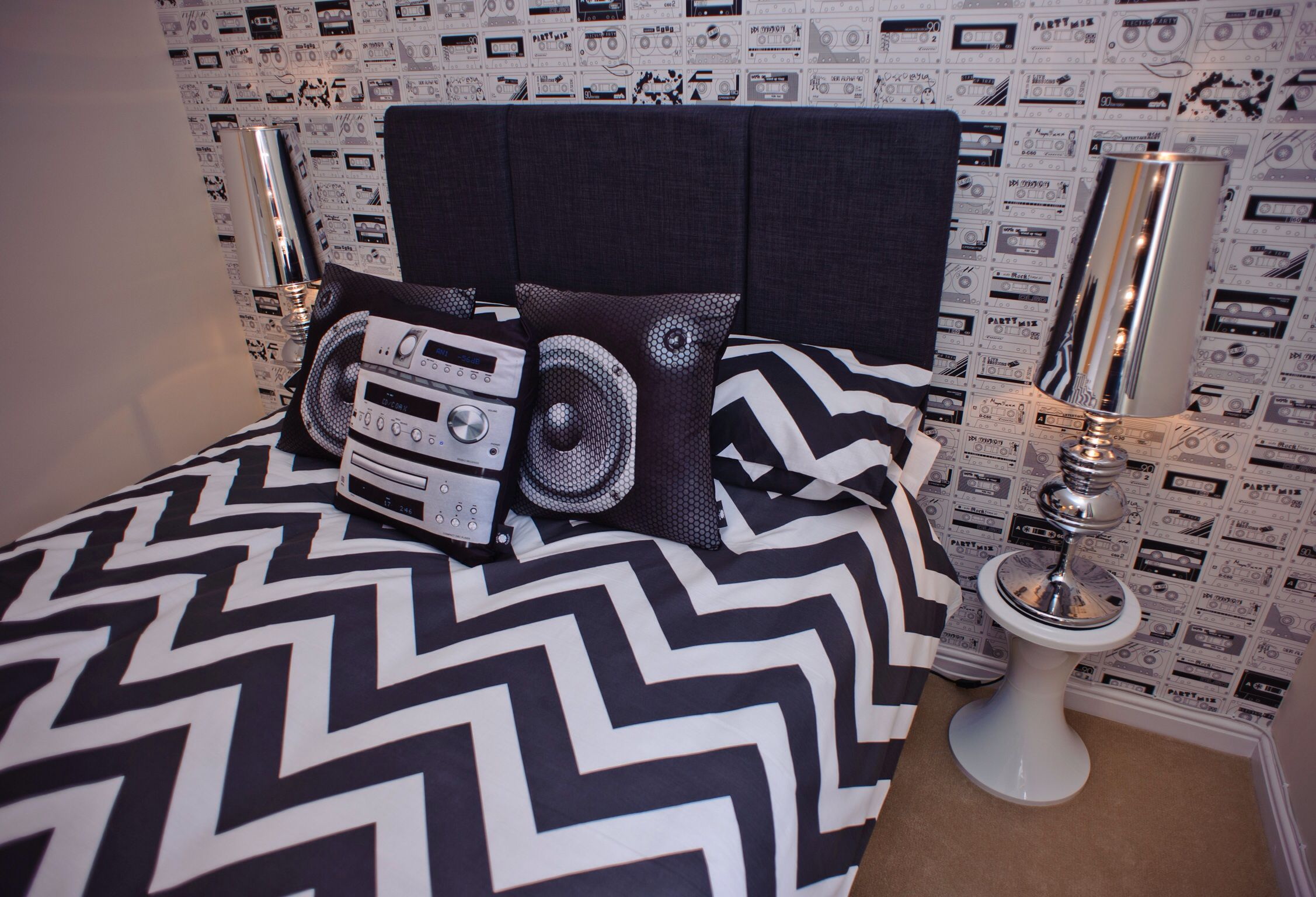 Music Themed Room Ideas Our Show Home At Cae Nant Cwmbran Teen 39s Music Themed