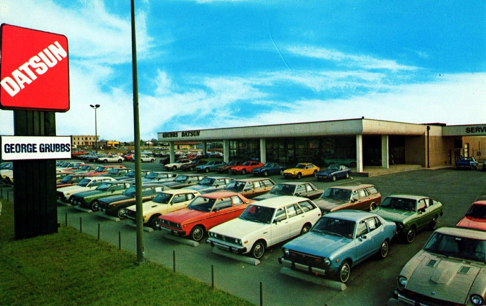 1970 S George Grubbs Datsun Dealership Bedford Texas Datsun Nissan Z Cars Nissan Infiniti