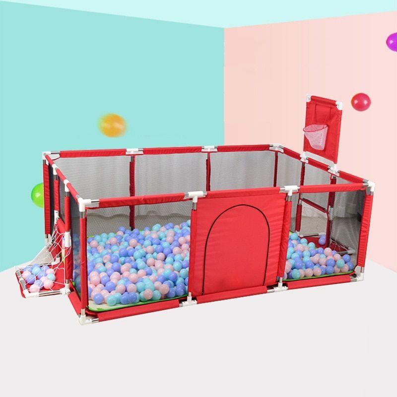 Baby Playpen Children Toddler Kids Indoor Outdoor Play Pen Ball Pool Basket AU