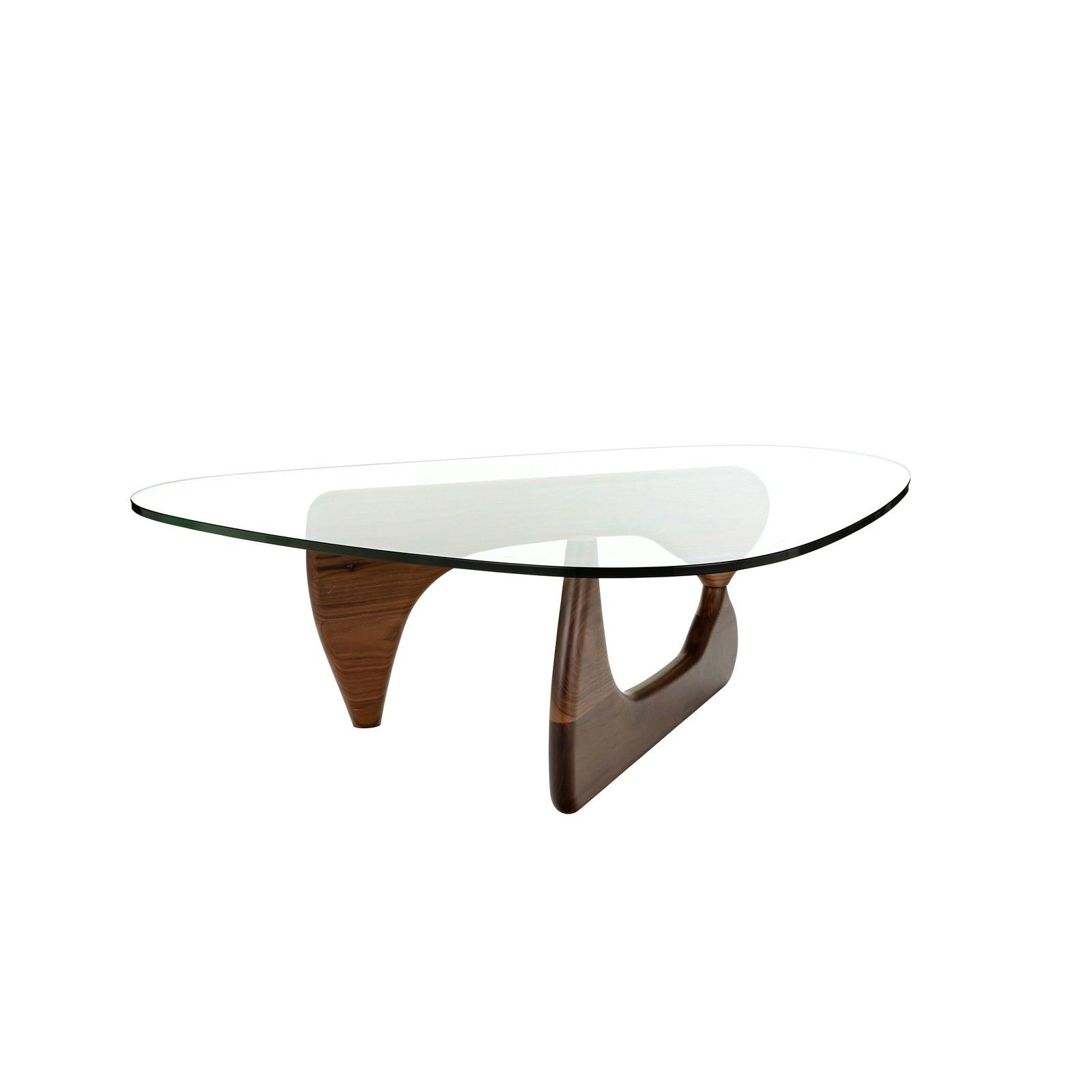 Replica Isamu Noguchi Coffee Table Walnut Coffee Tables Nick