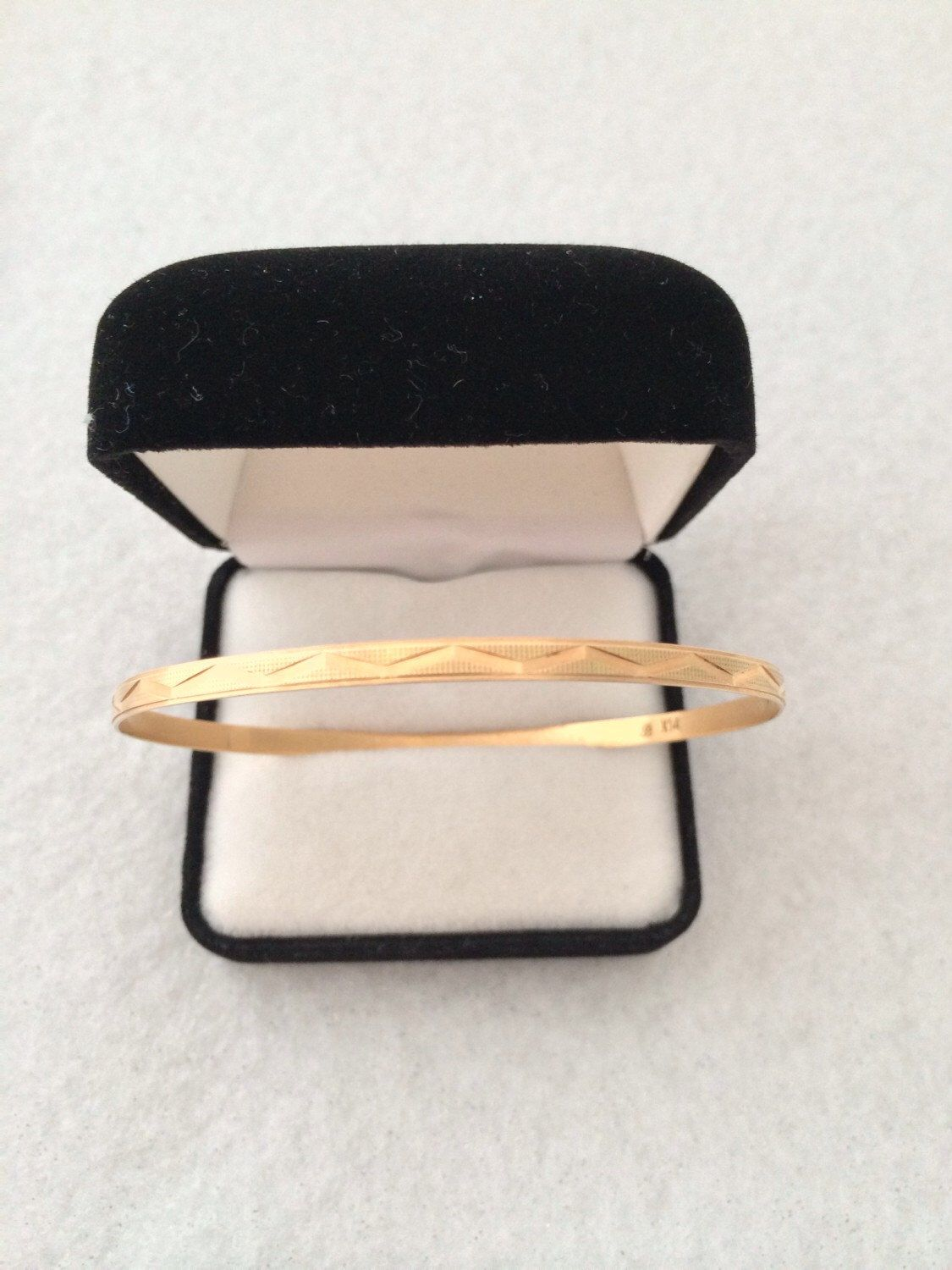 alpine bangle diamantbilds cut gold bracelets bracelet bangles solid ebay san marco two diamond tone