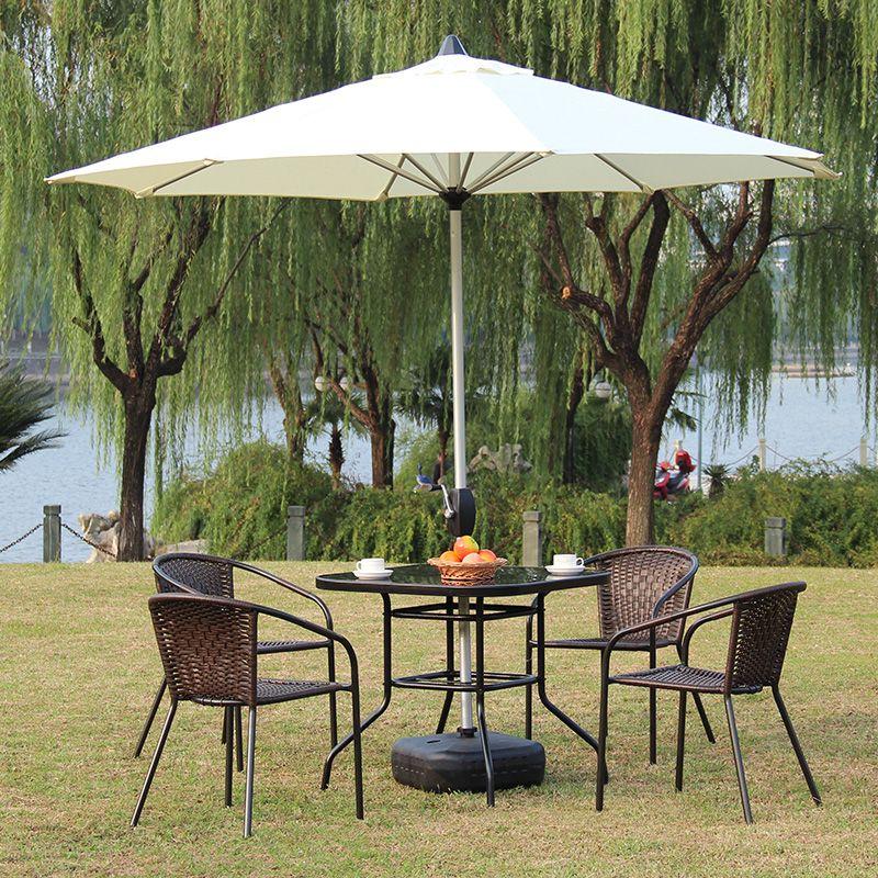 Sombrillas para mesa de restaurante b pinterest mesa for Alcampo sombrillas terraza