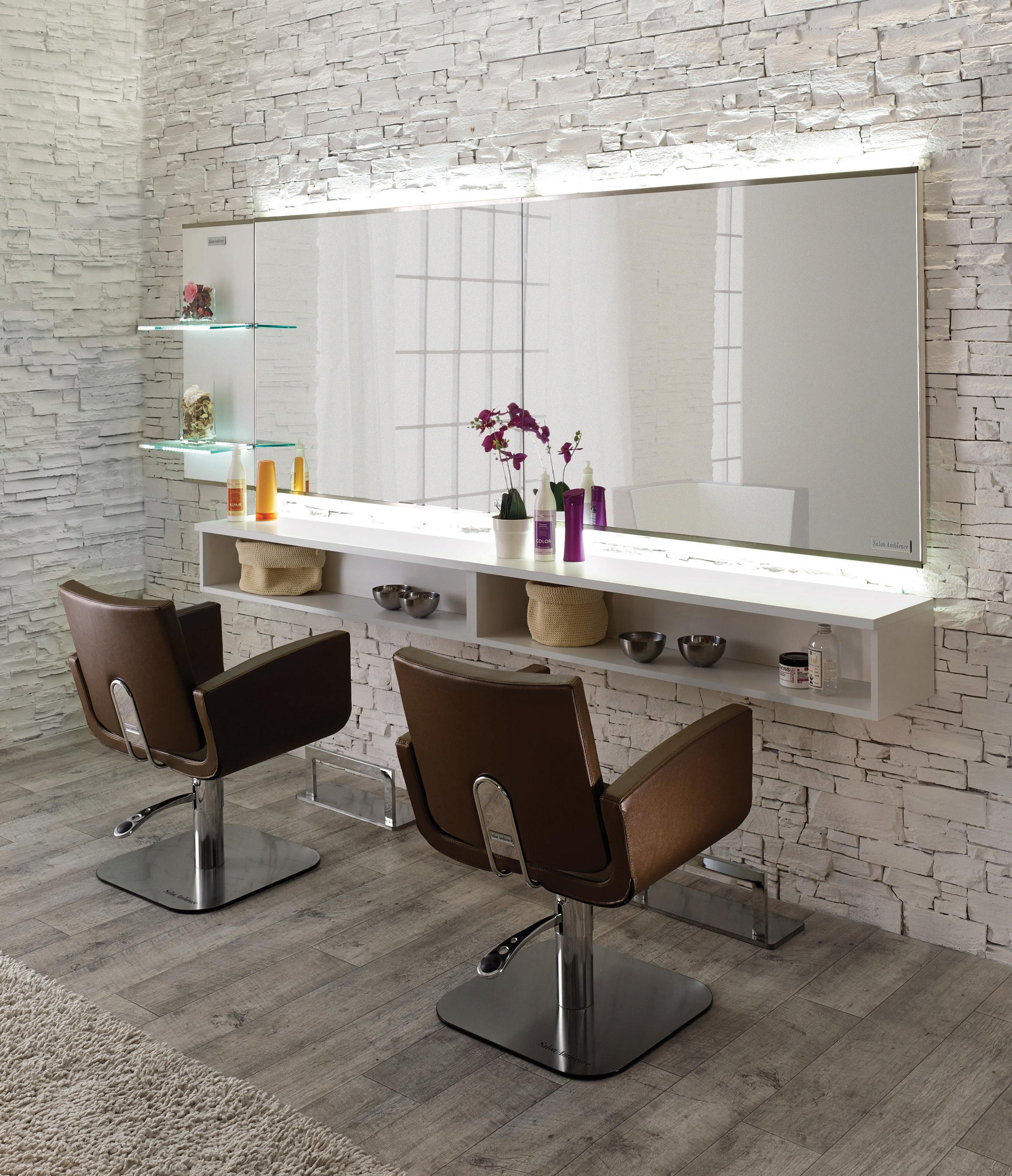 Salon-spiegel-designs Élargissez votre horizon avec cet élégant poste de coiffage un