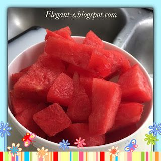 Elegant-e: Summer Drinks (Watermelon)
