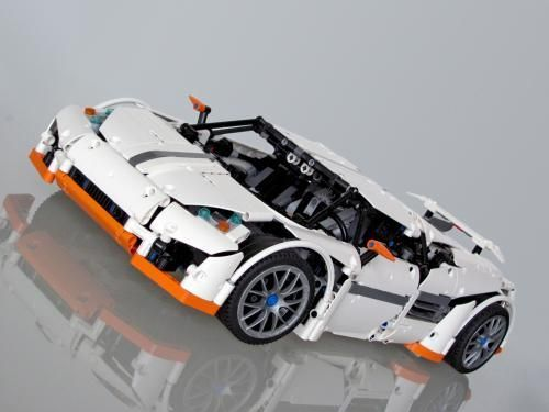 LEGO Set MOC-2811 Predator Supercar - building instructions and ...