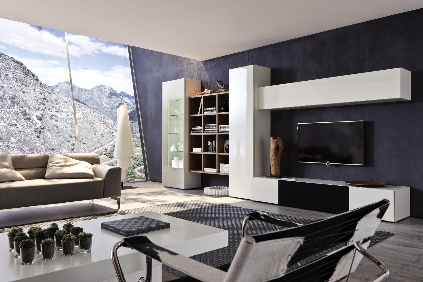 Populaire HÜLSTA Composition NEO meuble TV Design sur mesure en verre laqué  AZ18