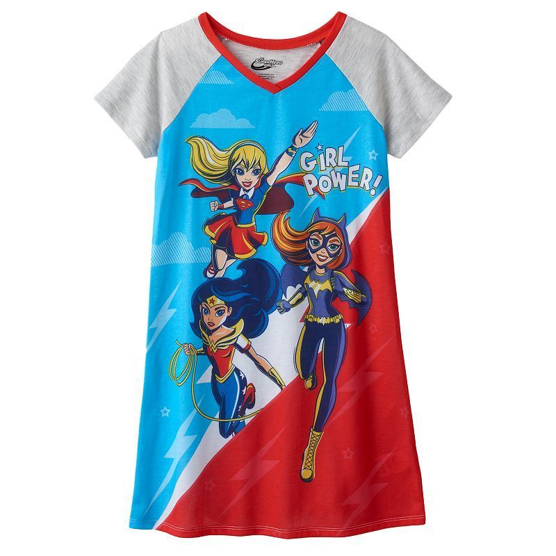 8e33c2e231c Girls 6-16 DC Super Hero Girls Supergirl, Batgirl & Wonder Woman ...