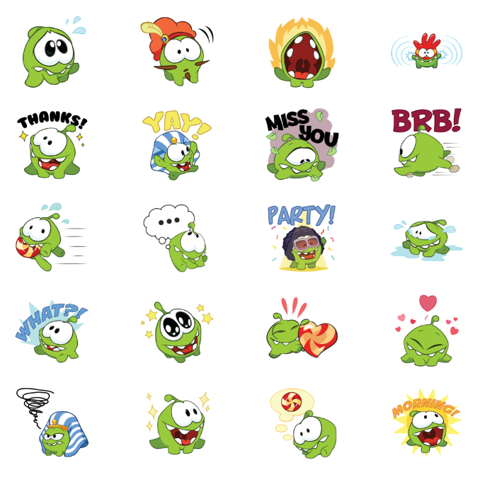 how to delete facebook stickers