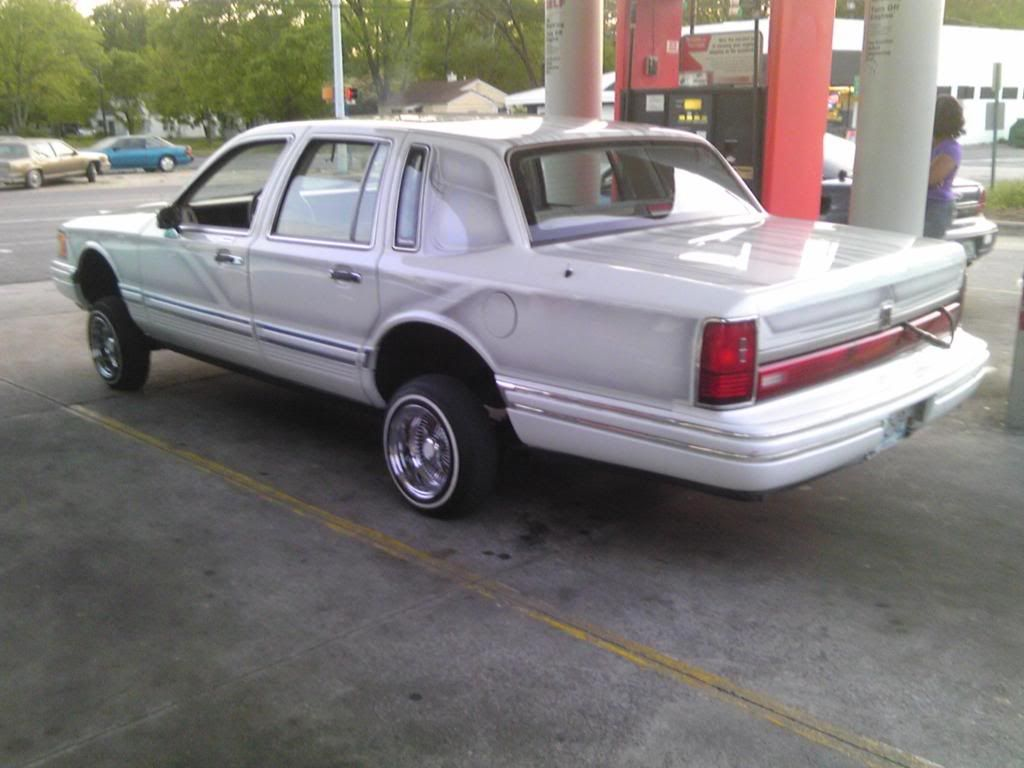F s f t 1992 lincoln towncar lowrider