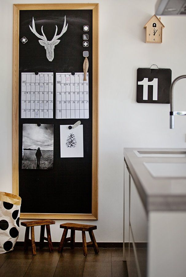Kreidewand Küche