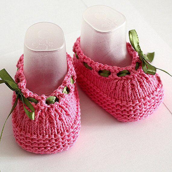 Knitting Pattern PDF file Baby Shoes Beatrice by loasidellamaglia ...