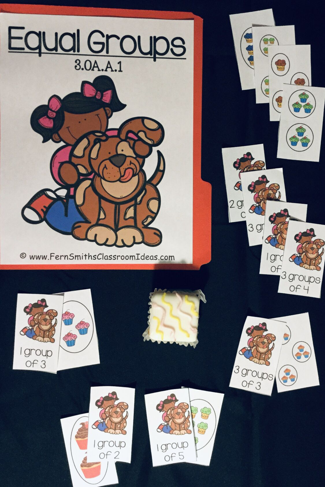 3rd Grade Go Math 3 1 Equal Groups Quick And Easy To Prep