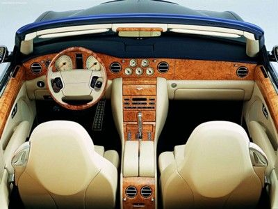 Bentley Arnage Drophead Coupe 2005 Poster Poster Mousepad